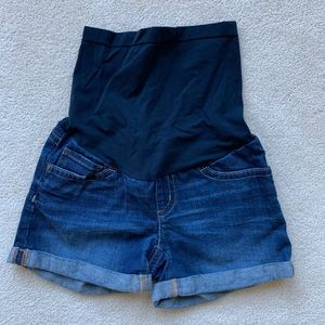 NWOT A Pea In The Pod Maternity Shorts